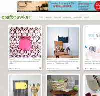 craftgawker.com screenshot