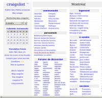 craigslist.org screenshot