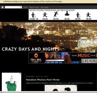 crazydaysandnights.net screenshot