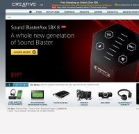 creative.com screenshot