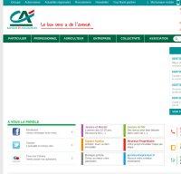 credit-agricole.fr screenshot