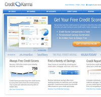 creditkarma.com screenshot