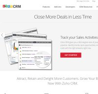 crm.zoho.com screenshot