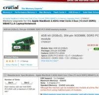 crucial.com screenshot