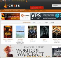 curse.com screenshot