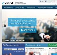 cvent.com screenshot