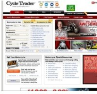 cycletrader.com screenshot