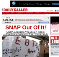 dailycaller.com screenshot
