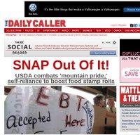 dailycaller.com screenshot