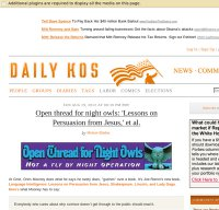 dailykos.com screenshot