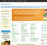 dailystrength.org screenshot