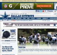 dallascowboys.com screenshot