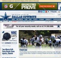 dallascowboys.com screenshot