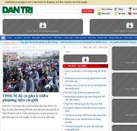 dantri.com.vn screenshot