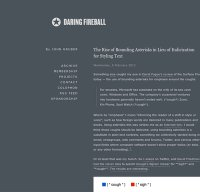daringfireball.net screenshot