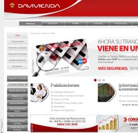 davivienda.com screenshot