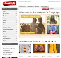 dawanda.com screenshot