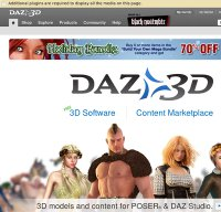 daz3d.com screenshot