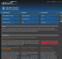 dd-wrt.com screenshot