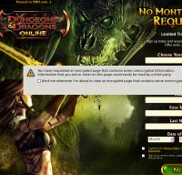 ddo.com screenshot