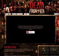 deadfrontier.com screenshot