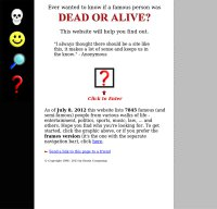 Dead or Alive Info Screnshot