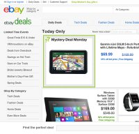 deals.ebay.com screenshot