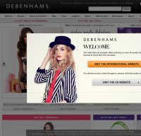 debenhams.com screenshot