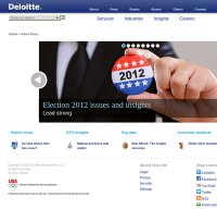 deloitte.com screenshot