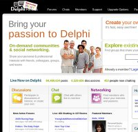 delphiforums.com screenshot