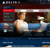 delta.com screenshot