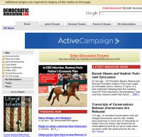 democraticunderground.com screenshot