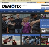 demotix.com screenshot