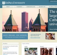 depaul.edu screenshot