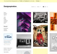designspiration.net screenshot