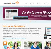 desire2learn.com screenshot