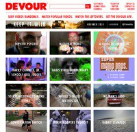 devour.com screenshot