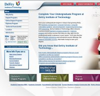 devry.edu screenshot