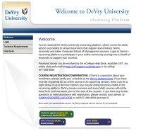devryu.net screenshot