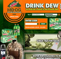 dewoutdoors.com screenshot