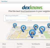 dexknows.com screenshot