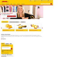 dhl.co.uk screenshot