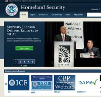 dhs.gov screenshot