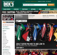 dickssportinggoods.com screenshot