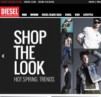 diesel.com screenshot