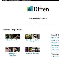 diffen.com screenshot
