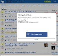 digg.com screenshot