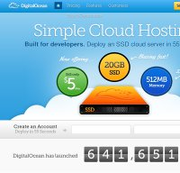 digitalocean.com screenshot