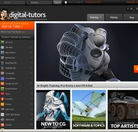 digitaltutors.com screenshot