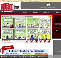 dilbert.com screenshot